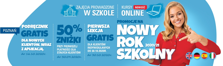 Promocje na nowy rok szkolny 2020/2021!